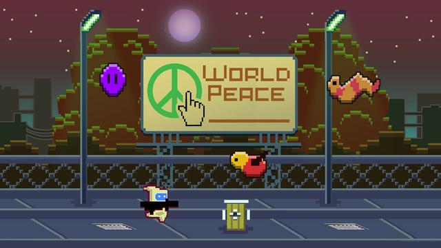 Robo Gun – Space Retro Runner Game