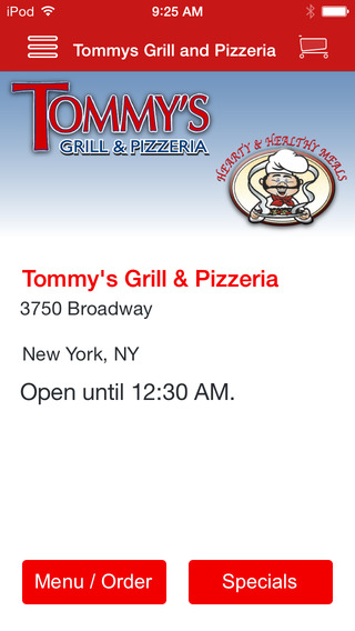 Tommys Grill and Pizzeria
