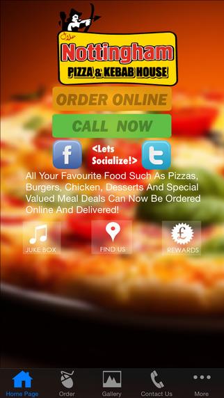 Nottingham Pizza And Kebab House - Order Online