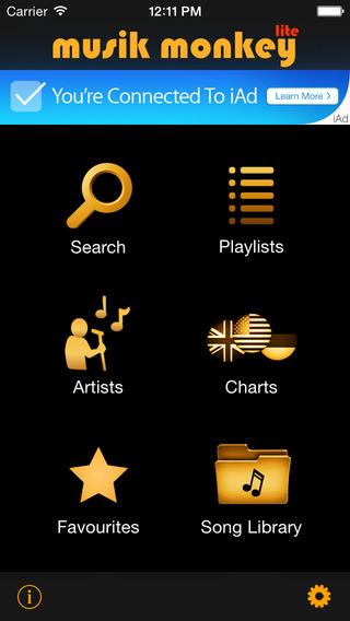 Musik Monkey Lite Music Video Player for YouTube