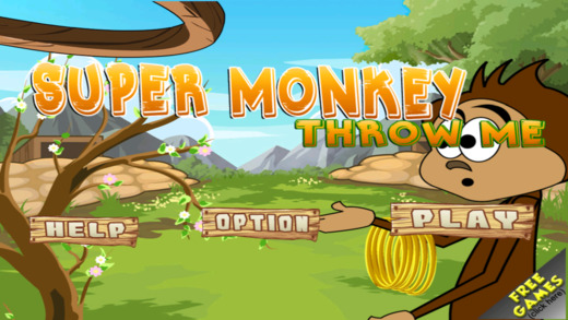 Super Monkey Quest: Throw Me Free