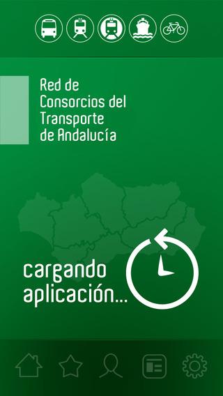 Red de consorcios de transporte de Andalucía