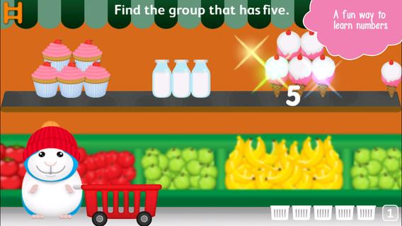 跟仓鼠学数学:Bugsy Kindergarten Math