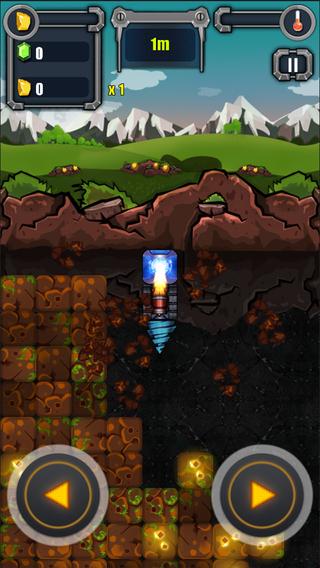 《益智游戏 - 疯狂钻机 [iOS]》
