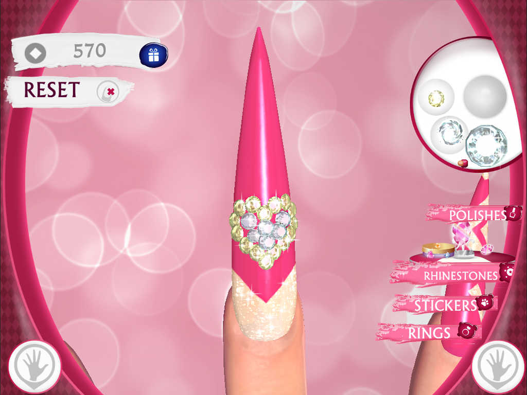 App Shopper: Cute Nail Art Designs Game 3D: Beauty and Manicure ...