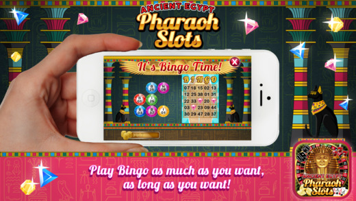 Amazing Pharaoh Slots - King Of Egypt Gold Slot Machine 777