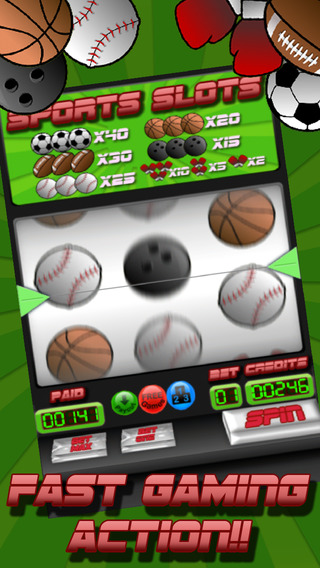 Sports Slots - Video slots poker machine Spin the wheel and WIN