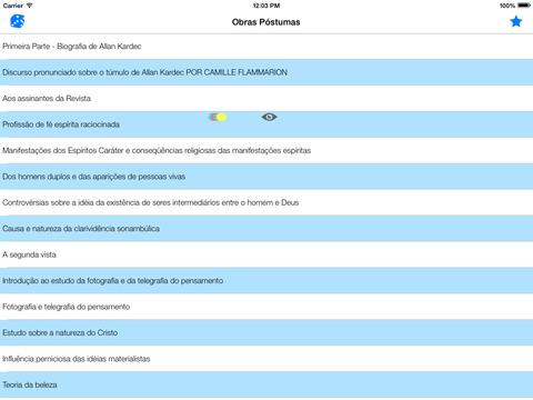 Obras Póstumas - Allan Kardec iPad Screenshot 1
