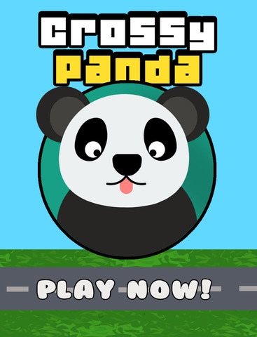 Crossy Panda - Endless Arcade Hopper Game