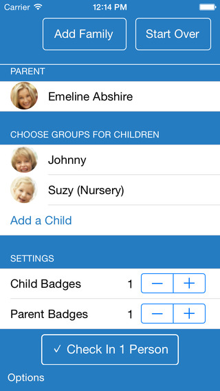 EasyTithe Plus Child Check-in