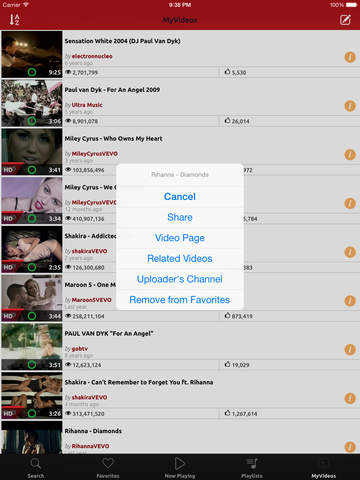 NetTube Video Player and Playlist Manager Youtube Edition screenshot