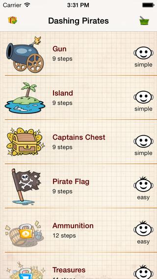 Learn To Draw : Dashing Pirates