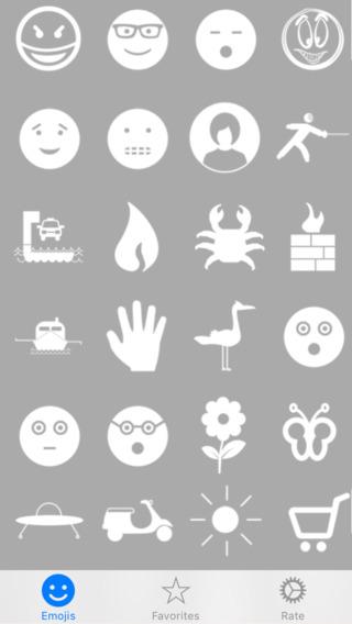 White Emojis