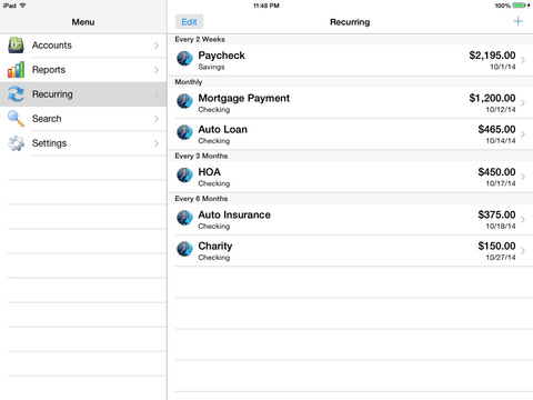 Accounts 2 Checkbook screenshot 10