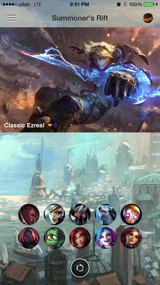 Champion Guide for League of Legends