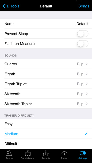 ProTempo iPhone Screenshot 3