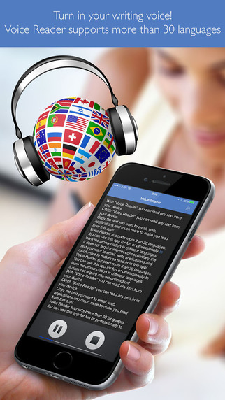 Voice Reader Professional reader of texts with speech