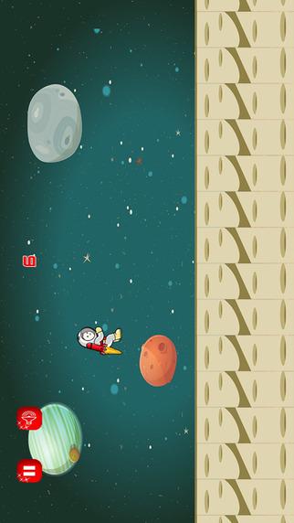 Astronaut Rocket Spaceman Moon Runner - Buzz Aldrin Apollo Space Exploration Maze Game