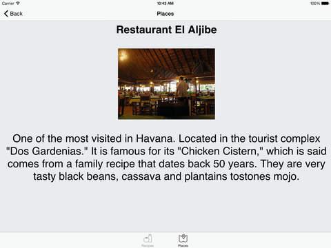 Cuban Recipes - Fish - HD iPad Screenshot 5
