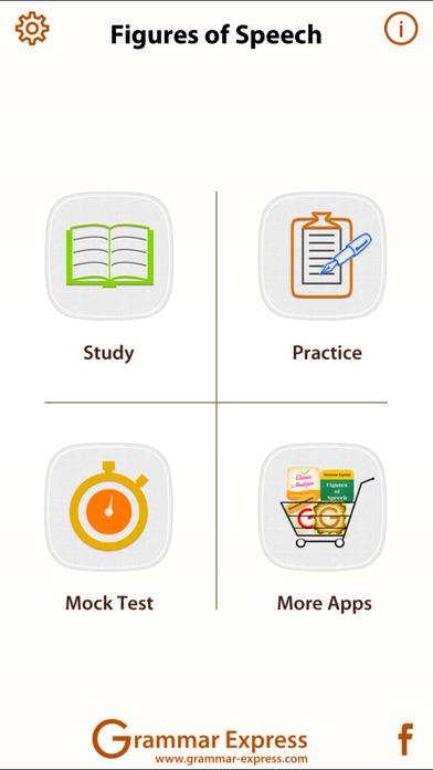 Grammar Express: Figures of Speech iPhone Screenshot 1