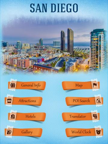 san diego tourism guide 在 app store 上的内容