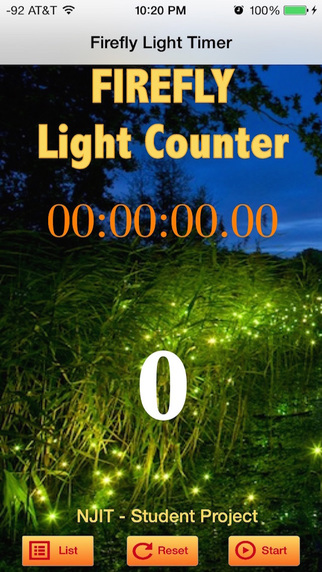 Firefly Light Counter