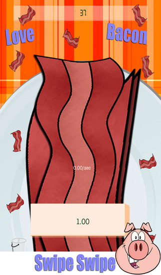 Make The Bacon Rain : The Love Of It Raining Game