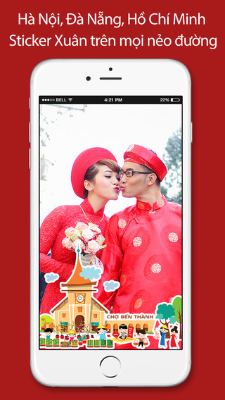 InstaTet - photo app with free Tet stickers