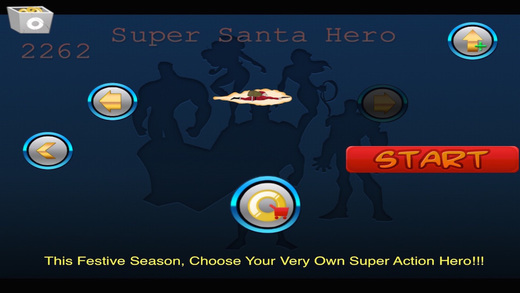 Santa Hero Galactica - Justice for the Just Pro Game