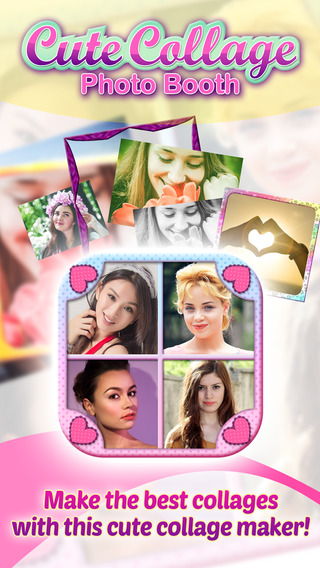 Cute Collage Photo Booth for creating Collages of your Pics