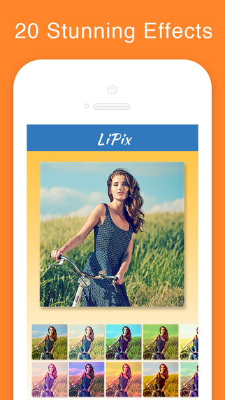 LiPix Pro- Photo Collage, Picture Editor Screenshots