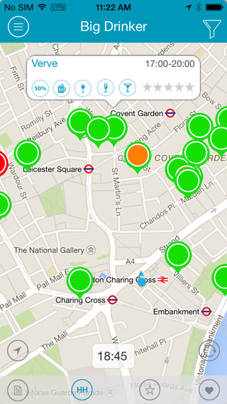 Big Drinker London - Happy Hour Finder and Bar Guide