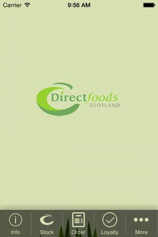 Direct Food Scotland screenshot 1