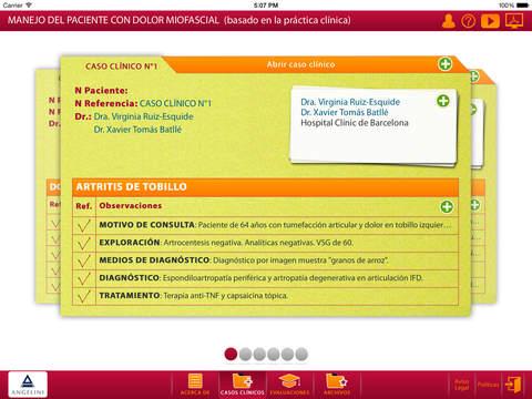 Manejo del paciente con dolor miofascial basado en la práctica clínica