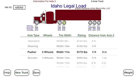 Legal Load Idaho
