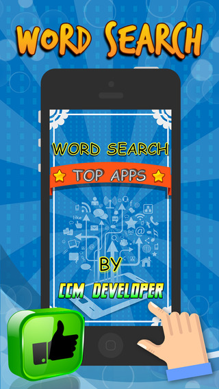 "Word Search TOP APPS - ""App Store Super Classic Wordsearch Puzzle Games"""