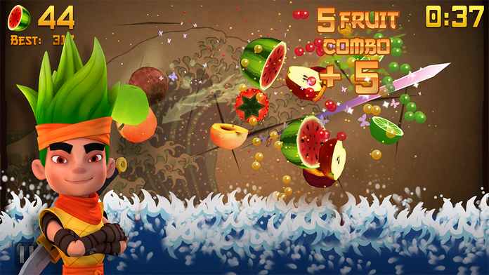 Fruit Ninja Free - iPhone Mobile Analytics and App Store Data