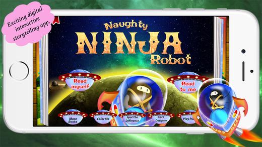 Naughty Ninja Robot by Story Time for Kids