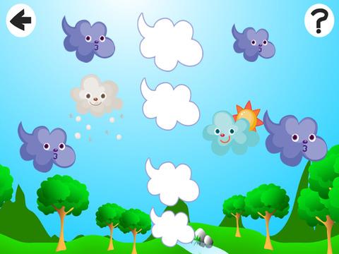 Активный! Сортировать По Размеру Игра Для Детей, Чтобы Учиться И Играть С Погодой