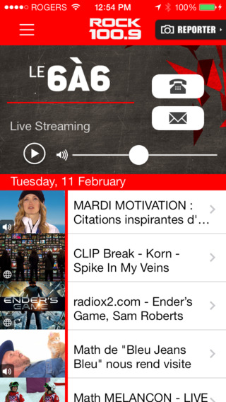 RadioX2 iPhone Screenshot 1