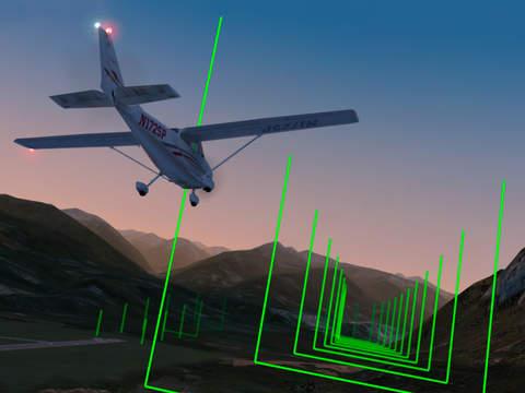 Screenshots of X-Plane 10 Flight Simulator for iPad