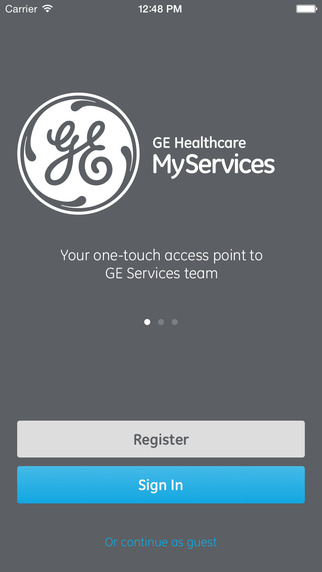 GE Healthcare MyServices