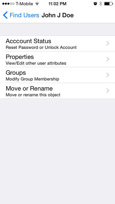 AD HelpDesk Lite iPhone Screenshot 3
