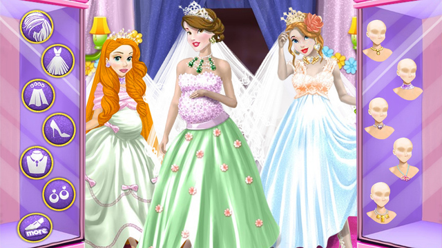 Wedding of Pregnant Princesses