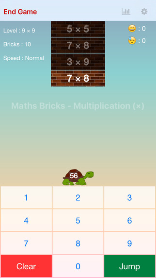 Maths Bricks - Multiplication