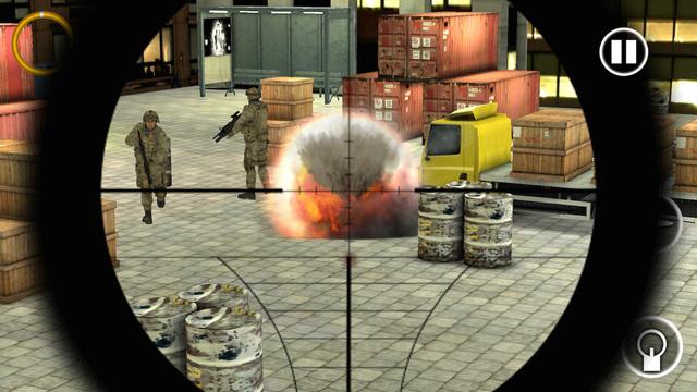 Sniper Assassin : Silent War