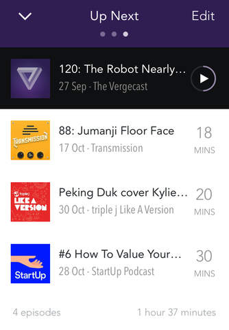 Pocket Casts screenshot 4