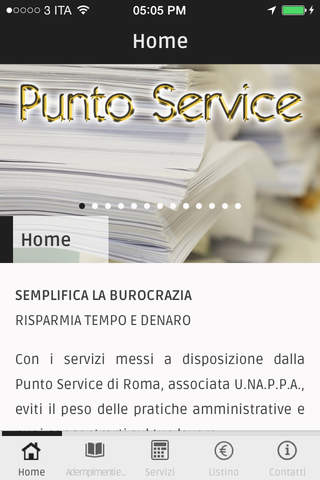 Punto Service screenshot 1