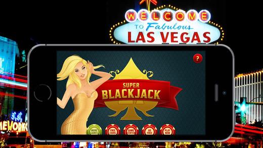 Super BlackJack 21 Practice for Real Live High Stakes Vegas Style Casino Black Jack