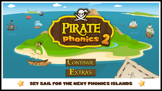Pirate Phonics 2 : Kids learn to read